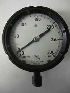 Ashcroft Duragauge Test Gauge 30 In hg Vacuum To 0 To 300 Psi Pressure Gage
