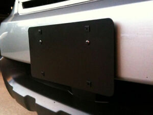 Front License Plate Bumper Mounting Bracket For Subaru Outback 2008 2020