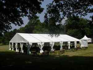 Used Losberger 40x100 Clear Span Tent P7 Profile