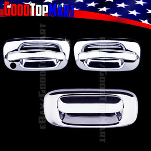 For Chevy Silverado 2000 2005 2006 Chrome Covers Set 2 Doors W O Tailgate W Out