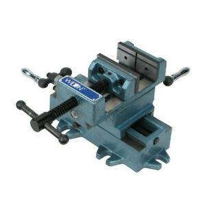 Wilton 6 In Cross Slide Drill Press Vise W V grooved Jaws Wmh11696 New