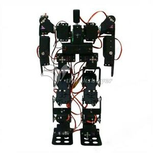 17dof Biped Robot Educational Robot Kit W Servos Control Remote Controller