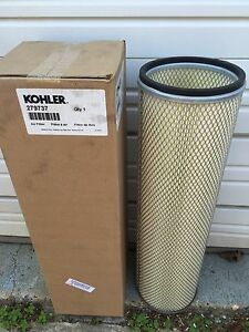 Kohler Generator Air Filter Part 279737 Marine And Standby Applications