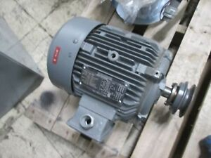 Siemens Epart Motor Rgzp 1 5hp 1160rpm 230 460v 4 6 2 3a Used