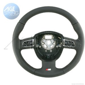 Audi A3 Q5 8r0 S line Perforated Leather G tronic Steering Wheel 8p0419091dtwul