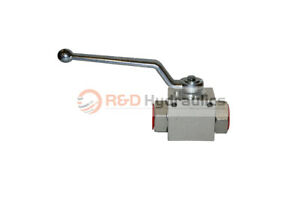 1 2 Hydraulic High Pressure Steel Ball Valve