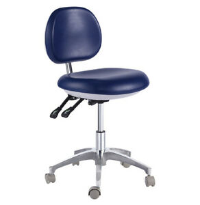 Dental Mobile Chair Doctor s Stool Pu Leather Dentist Seat Height Adjustment 500