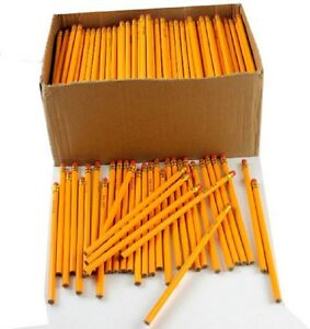 Wholesale Bulk Lot Yellow 2 Pencils 576 Count School Office Supplies Writing