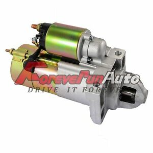 New Starter For Cadillac Chevy Gmc Isuzu Truck Tahoe Trailblazer 4 8l 5 3l 6489
