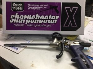 Touch N Seal Sharpshooter Metal Foam Gun