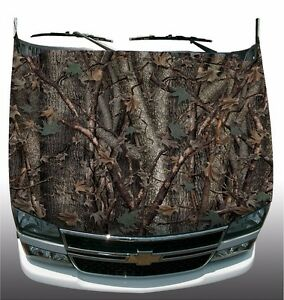Oak Camouflage Hunting Hood Wrap Wraps Sticker Vinyl Decal Graphic