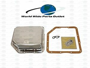 Th350 C Transmission Filter Kit With Pan High Flow