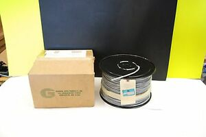 General Wire M49285 12 22 Awg 3 Pairs Sheilded With Bare Drain Wire 500ft