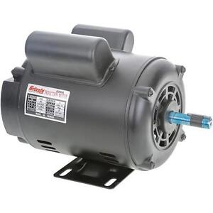 G2905 Grizzly Motor 1 Hp Single phase 1725 Rpm Open 110v 220v