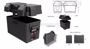 Snap Top Battery Box For Automotive Marine And Rv Noco Hm318bks Group 24 31