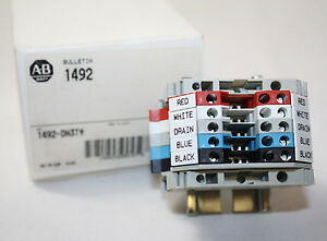 New Allen Bradley 1492 dn3tw Terminal Block Custom Rail Assembly 1492dn3tw