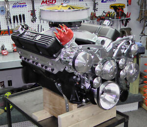 Chrysler 440 500ci Stroker Crate Engine With 525hp Dyno Proven Custom Built