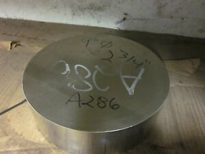 10 25 Dia X 1 70 Long Incoloy A286 Nickel Stainless Steel Round Rod Bar