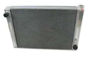 Chevy Aluminum Performance Radiator 24 Chevy 2 Row Universal