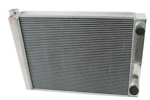 Chevy Aluminum Performance Radiator 19 X 24 2 Row Double Pass Universal Racing