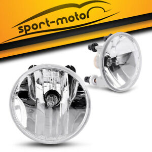 For 2007 2013 Chevy Suburban Tahoe Avalanche Replacement Clear Fog Lights Bulbs