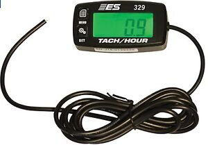 Esi 329 Small Engine Tach hour Meter rpm hour Meter engine Job Timer