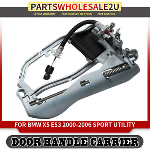 Door Handle Carrier For Bmw E53 X5 2000 2001 2002 2003 06 Front Left Driver Side