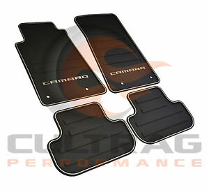 2010 2015 Camaro Genuine Gm Front Rear All Weather Floor Mats 22766717