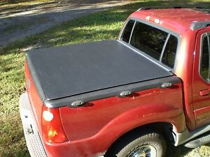 2001 05 Ford Explorer Sport Trac 1st Gen Hatch Style Bed Cover Craftec Covers