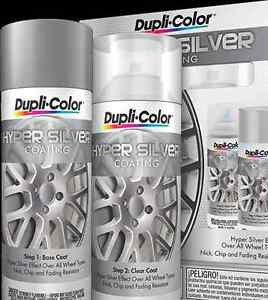 Duplicolor Hsk100 Hyper Sliver Coating Wheel And Rim Spray Paint Aerosol Kit