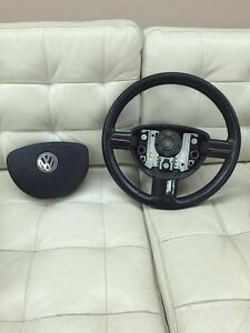 Vw Volkswagen Rhd New Beetle 98 2010 Steering Wheel With Carbon Fiber Parts