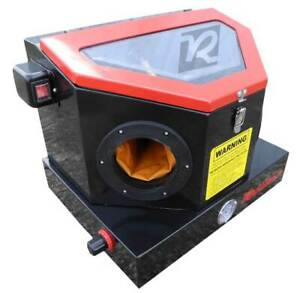 New Redline Benchtop Re22 Abrasive Sand Blaster Blast Cabinet Glass Bead Media
