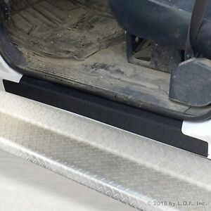 1988 98 Fits Chevy Gmc C K Regular Cab 2pc Door Sill Protect Threshold Step Pads