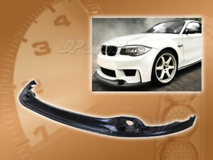 For 07 11 Bmw E87 1 Series 1m Ra Front Bumper Lip Kit Body Spoiler Polyurethane