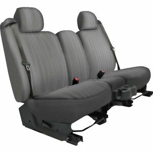 Dash Designs Seat Cover New Gray F250 Truck F350 Ford F 100 Pickup K301 a5 2rsv
