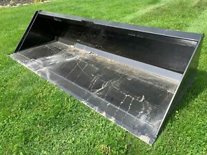 New 84 Skid Steer tractor 7 Bucket bobcat Case Cat John Deere