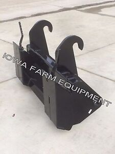 Jcb 210 212 214 3cx 4cx Tractor Loader Backhoe Skid Steer Quick Attach Adapter