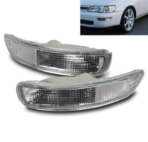 Toyota Corolla 1993 1994 1995 1996 1997 Front Bumper Signal Light Lamp Clear New