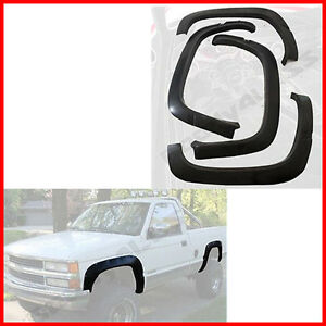 Fender Flares Protector Oe Style For 88 98 Chevy Gmc C k Truck Tahoe Suburban