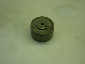62mm Flat Belt Pulley For A Mikron 79 Gear Hobbing Machine