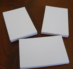 Refill Note Paper Loose Sheets 3 X 5 100 Sheets Lot Of 3