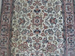 Indian Hand Knotted Runner Rug 2 8 X 11 5