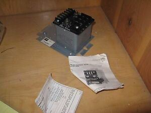 Cutler hammer Current Sensitive Relay Adjustable With Transformer D60l