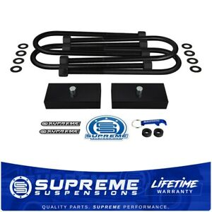 03 13 Dodge Ram 1500 Mega Cab 2500 3500 1 Rear Lift Kit W Iso 9001 U bolts