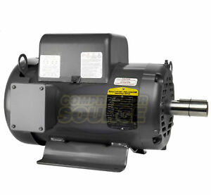 Baldor 7 5 Hp Electric Motor 3450 Rpm 213 T Frame 1 Ph Single Phase 208 230 Volt