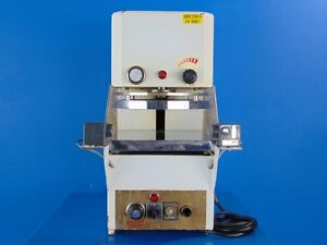 Heated Bakery 13 Pie Press Pizza Dough Press Made In Italy 220 Vac 3ph 60 Hz