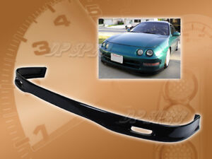 For 94 97 Acura Integra T S Front Bumper Lip Body Kit Spoiler Poly Urethane Pu