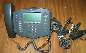 Polycom Soundpoint Ip 501 Sip Voip Phone With Ac Adapter 2201 11501 001
