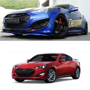 Front Rear Side Skirts Body Kit Unpainted For Hyundai New Genesis Coupe 2013