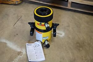 Enerpac Rrh 606 60 Ton Hollow Cylinder 6 Stroke Double Acting New